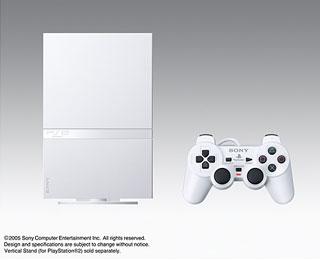 やっぱり出た。PS2の新カラバリ「セラミックホワイト」