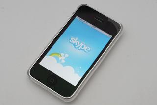 iPhone 3Gに純正「skype」でタダ電話&どこでもチャット!