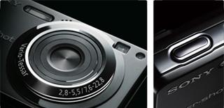 有効1360万画素とチタンコートの高品位ボディを持つ「DSC-W300」