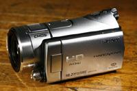 スタンダードスタイルのメモリースティックハンディカム「HDR-CX12」