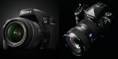 米SONYからデジタル一眼レフカメラが3機種発表!