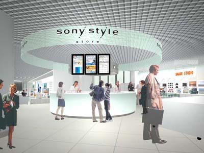 大阪におもしろいモノできるよ。「ソニースタイルストア」