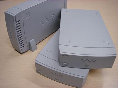 VAIO純正のi.Link HDDを何気に集めてみた。。。