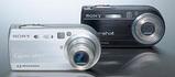 720万画素のデジカメDSC-P150!