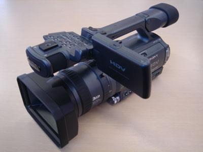 見た目インプレ。「ハイビジョンカメラHDR-FX1」