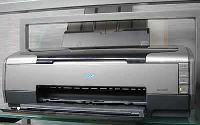 EPSONのPX-G5000を導入ー。