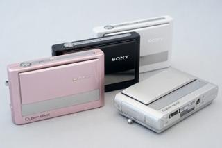 4色のカラーバリエーションから選べるコンパクト新サイバーショット「DSC-T20」