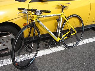ケロロ軍曹の折りたたみ自転車、その名も「K66」