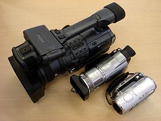 超気になる新ハイビジョンビデオカメラ「HDR-HC3」(その4)