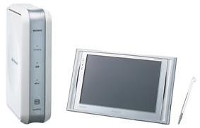 ワイド7V型液晶の「ロケーションフリーTV」