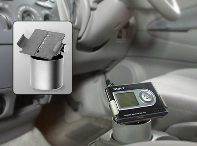 やっぱ車で使いたいよね。HDDポータブル。