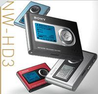MP3対応になったソニーのネットワークウォークマン。