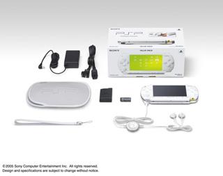PSP新色「セラミック・ホワイト」予約開始!