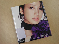 中島美嘉のBEST ALBUM「BEST」は当然買った。