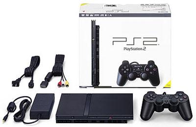 新薄型PS2の販売予約受付がはじまった。