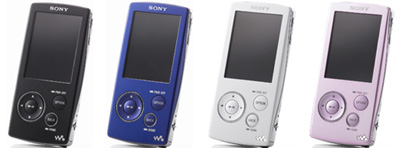 ウォークマンビデオプレーヤー「NW-A800シリーズ」独ソニーで発表!