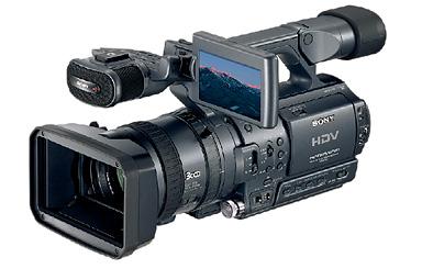 ついに出た!1080iハイビジョン記録できるHDV規格対応デジタルビデオカメラ