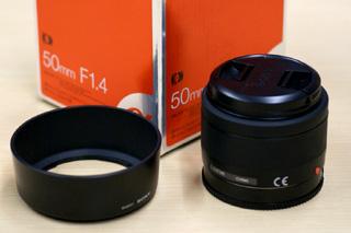 α100に付けてみた単焦点レンズ「SAL50F14」