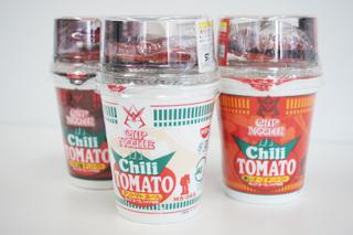 シャア専用チリトマトヌードル「miniガンプラ」を食べながら作ってみた。