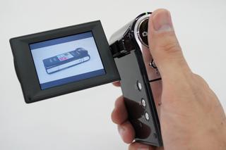 光学ズームのある手軽なHDムービーカメラbloggie「MHS-CM5」