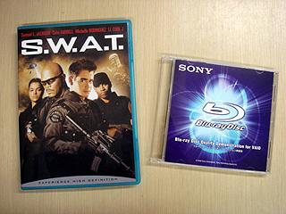 ブルーレイソフトの「S.W.A.T.」をVAIO typeAで見てみよー。
