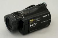 HDR-CX7を含めハンディカム4機種の電源起動して録画できる速度比較