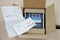 iPadがやって来たのでいろいろいじりながら雑感など。