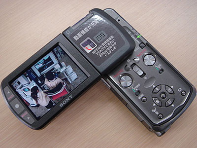DSC-M1の動画機能。