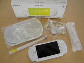 PSPの白いヤツ!