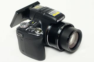 連続撮影やハイビジョン動画撮影が得意なサイバーショット「DSC-HX1」
