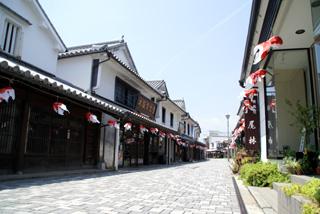 α100で柳井「白壁の街並み」を撮影してみる。
