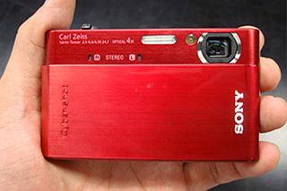 ハイビジョン動画の撮影も再生も楽しいサイバーショット「DSC-T900」