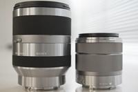 デジタル一眼カメラ「NEX-5/3」を11倍高倍率ズームにできる「SEL18200」