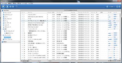 音楽データの転送はやっぱり「Media Go」に頼る。 (x,アプリではない。)